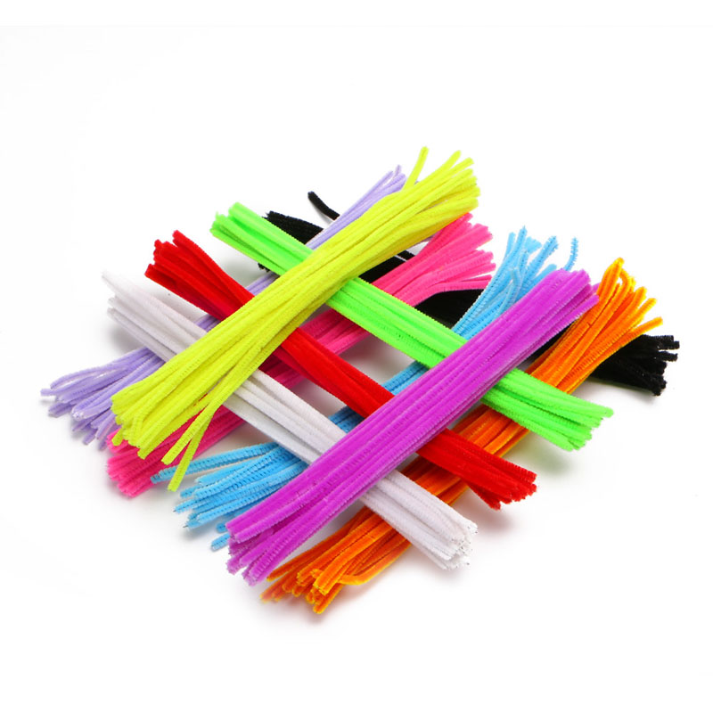 200 PCS DIY Handmade Educational Spin Rods Shelly Stick Plush Puzzle Toys For Kid Craft W15