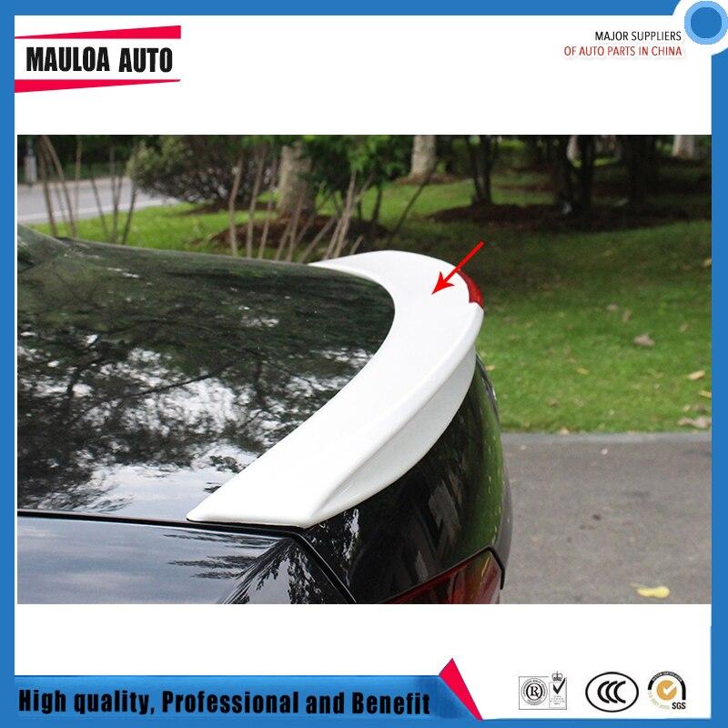 Высокое качество ABS черный белый или праймеры Неокрашенный цвет автомобиля задний спойлер для Passat 2011 2012 2013 2014 2015 2016 2017