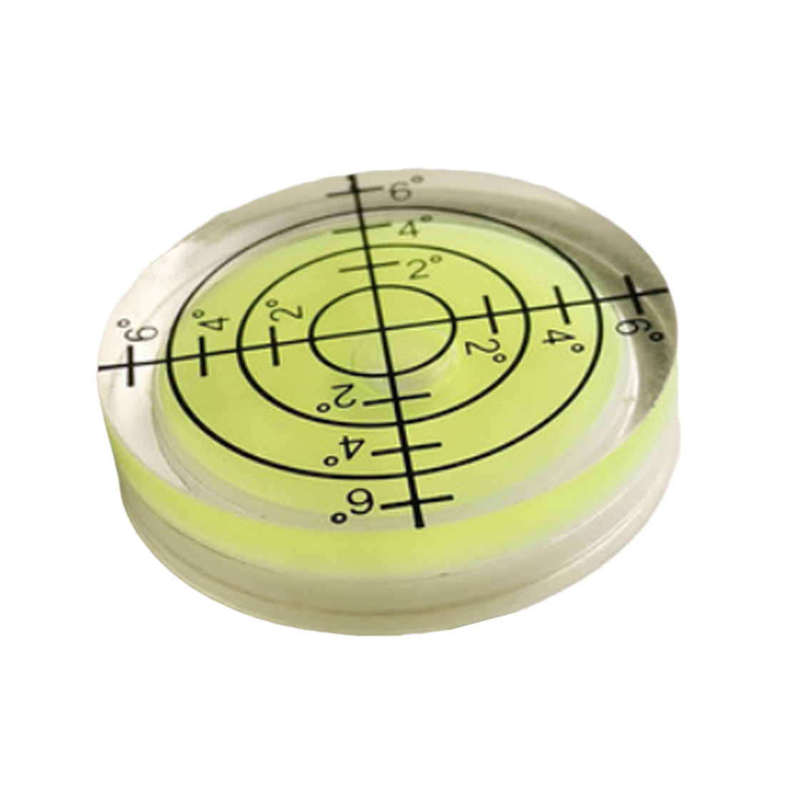 High quality 1pcs 32*7MM White Green Blue Color Bullseye Bubble level Round Level Bubble Accessories for Measuring Instrument variety models available round bubble level mini spirit level bubble bullseye level measurement instrument