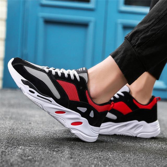 759d567f1f2 2018 kanye west Vintage dad Men shoes fashion mesh light breathable men  casual shoes men sneakers zapatos hombre