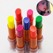 1pc Fluorescent Lipstick Luminous Lip Stick Batom Glow In Th