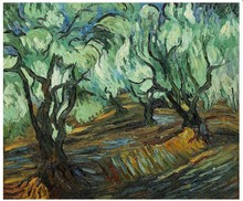 Olive Tree by Vincent Van Gogh Handpainted