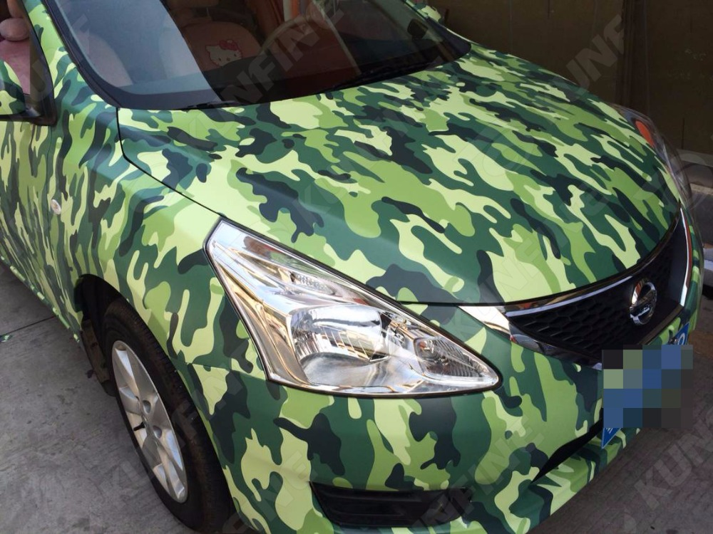 Car Styling Wrap Camo Car Vinyl film Body Sticker Car Wrap With Air Free Bubble For Vehiche Motorcycle 1.52*30M/Roll quality guarantee yellow matte vinyl wrap film foil car sticker with air bubble free fedex free shipping size 1 52 30m roll