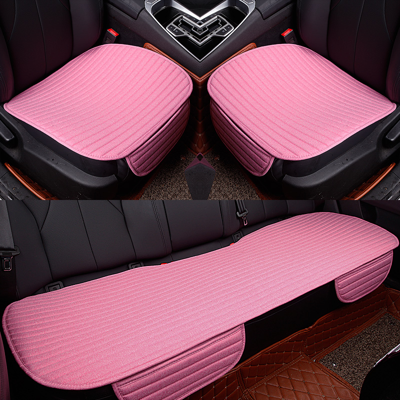 Linen Breathable car seat  cover 1