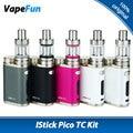 Cigarrillo electrónico original eleaf istick pico kit w/75 w istick pico TC Caja Vape Mod Vaporizador y MELO III 3 Mini Tanque atomizador