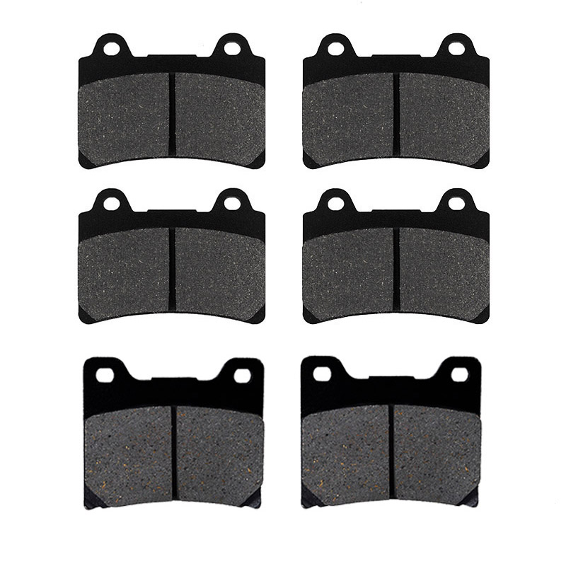 Cyleto Front and Rear Brake Pads for YAMAHA XV1600 XV 1600 Midnight Star 2002 2003//XV1600A Wildstar 1999 2000 2001 2002 2003 2004