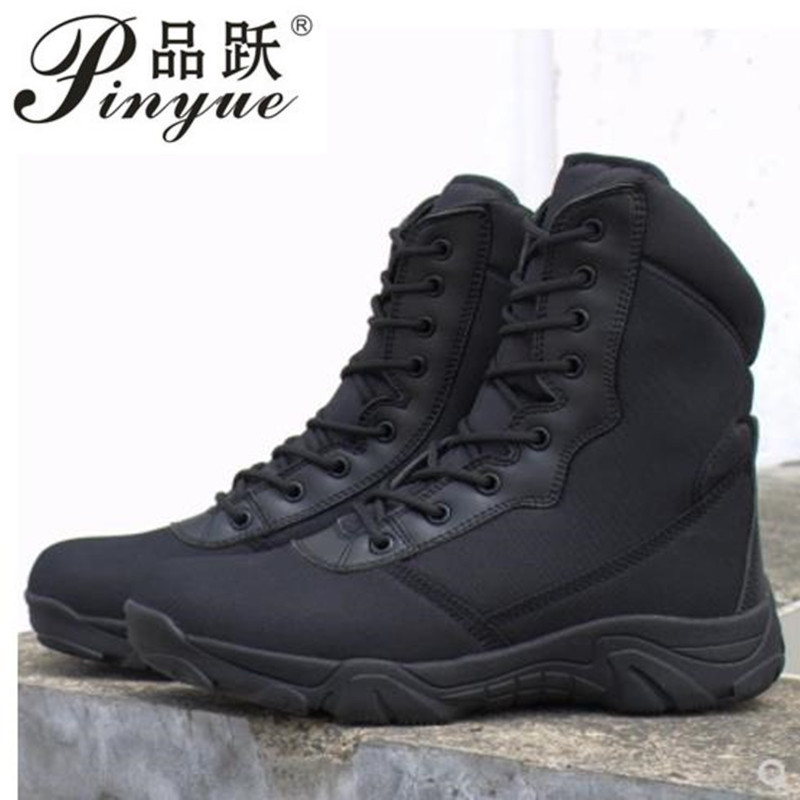 Men High Tube Jungle Desert Walking Boots  Camping  Breathable US Army Camouflage Combat Tactical Boot Ankle ShoesMen High Tube Jungle Desert Walking Boots  Camping  Breathable US Army Camouflage Combat Tactical Boot Ankle Shoes