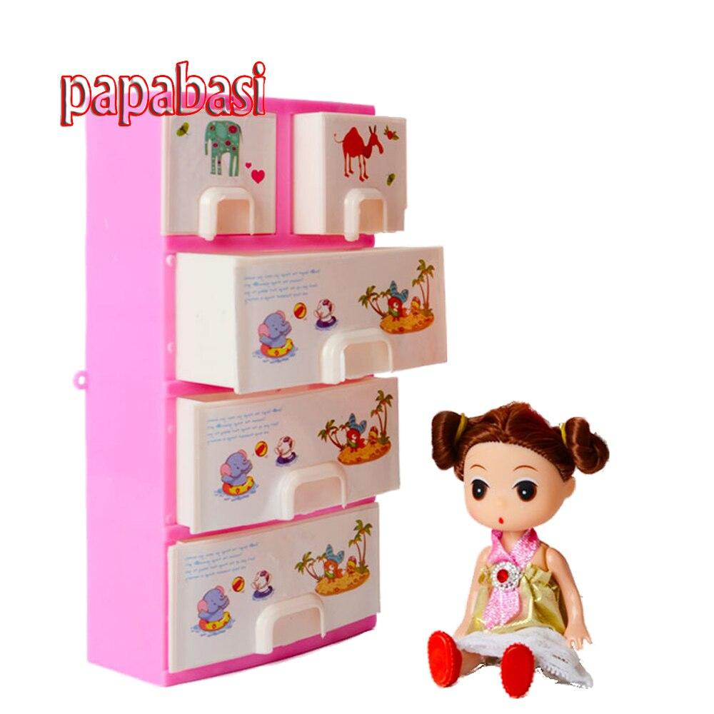 Bathroom carpets barbados bathroom carpet fantasy rose abbey - Papabasi Printing Closet Wardrobe For 1 6 Joint Body Baby Doll Girls Toy Princess Bedroom
