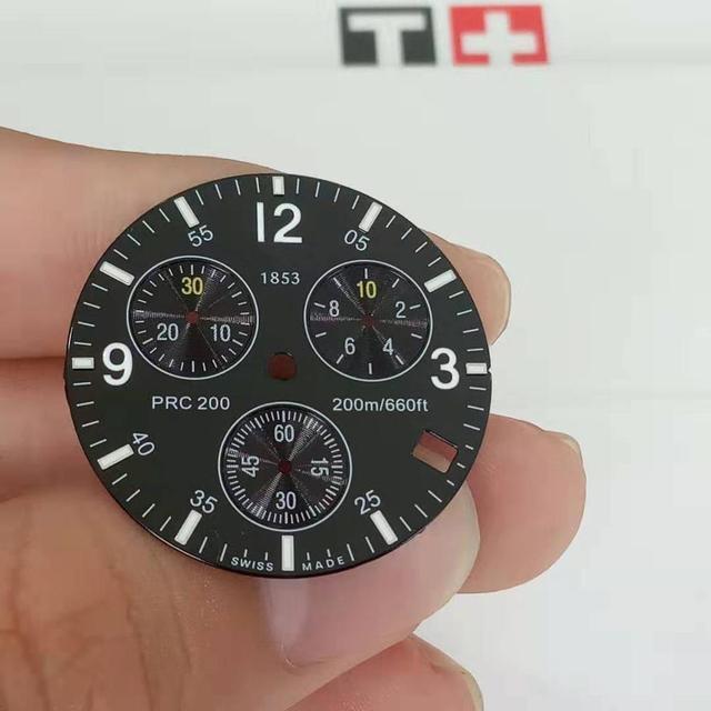 31mm uhr zifferblatt hände fall für T461 männlichen PRC200 Quarzuhr wörtliche Uhr zubehör für T17 Reparatur teile armband