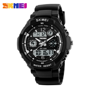 SKMEI Dual Display Children LED Digital Watch Chronograph Sport Watches Kids Waterproof Wristwatch For Boys Girls Relógio 1060