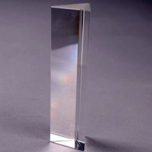 FDDT 2 Inch Physics Teaching Precision Optical Glass Prism