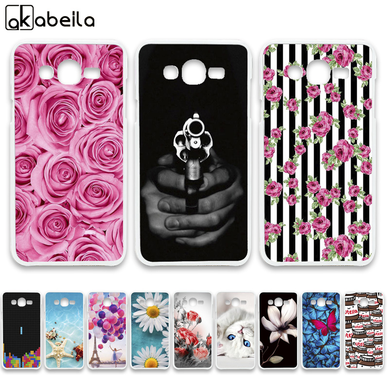 AKABEILA Soft TPU Phone Cases For <font><b>Samsung</b></font> Galaxy J3 2016 J320FN <font><b>J320F</b></font> <font><b>J320F</b></font>/DD J320A J320V J320P J320M J320G <font><b>Covers</b></font> Bags image