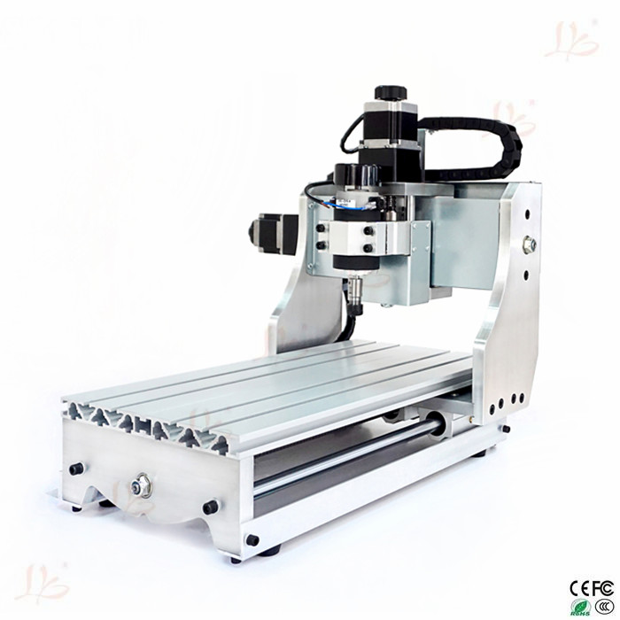 Attractive! 300W mini CNC router 3020 Z-D300 4axis cnc milling machine 220V CNC engraving  machine for DIY eur free tax cnc 6040z frame of engraving and milling machine for diy cnc router