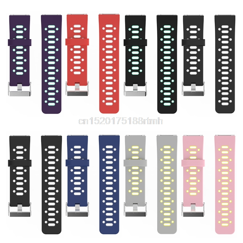 Multi-Color Sport Silicone Replacement Strap Band For Fitbit Blaze Smart Watch D22 drop Shipping silicone replacement wrist band strap bracelet for polar v800 sport smart watch t50p drop ship
