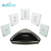 Broadlink RM2 RM PRO Evrensel Akıllı Ev Otomasyonu WiFi Kablosuz Uzaktan Kumanda TC2 Işık Duvar Dokunmatik Akıllı Zamanlayıcı Anahtarı