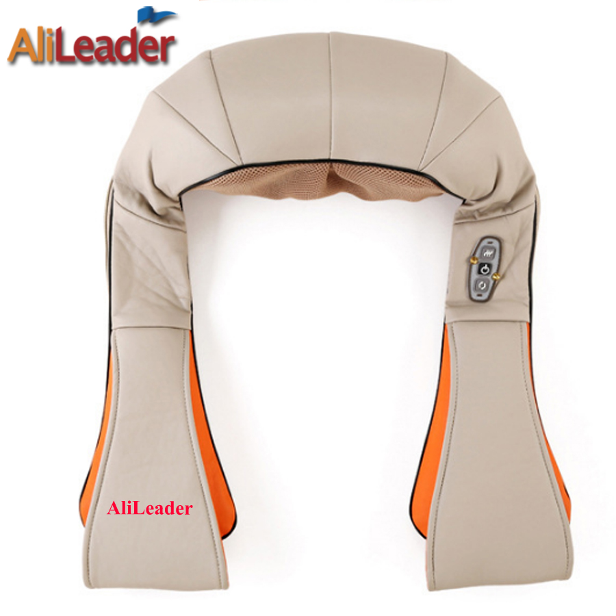 Best Gift For Parents 4D Shiatsu Kneading Heating Massage Pillow Professional Massager Best Massage For Back Pain Backache human free shipping hot guitar electric guitar good quality beautiful olp double shake left hand brown guitar