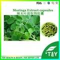 Venda quente! Folha Da Árvore de Moringa Extrair/Extrato de Moringa Oleifera extrato em pó Cápsulas de 500 mg * 100 pcs/Bag