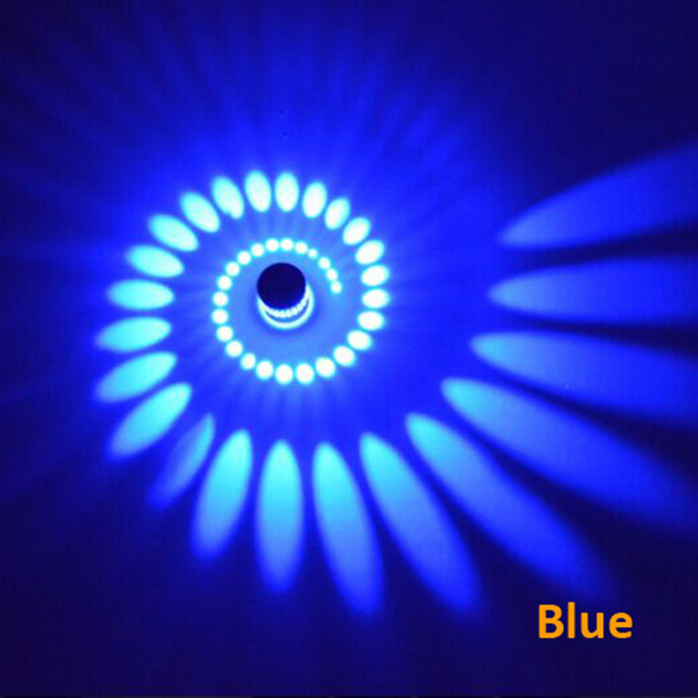 Led Wall Lamp Whirl Wall Decoration Lights For Ktv Bar