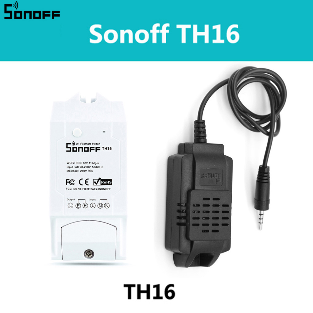 Sensor Si7021 Temperature Humidity Sensor Probe High Accuracy Monitor Module for TH10 and TH16