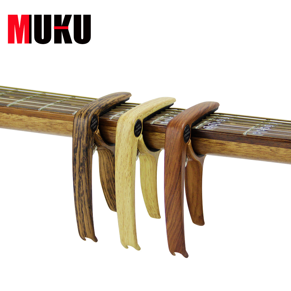 Muku Guitar Accessories Acoustic Guitar Capo Also For
