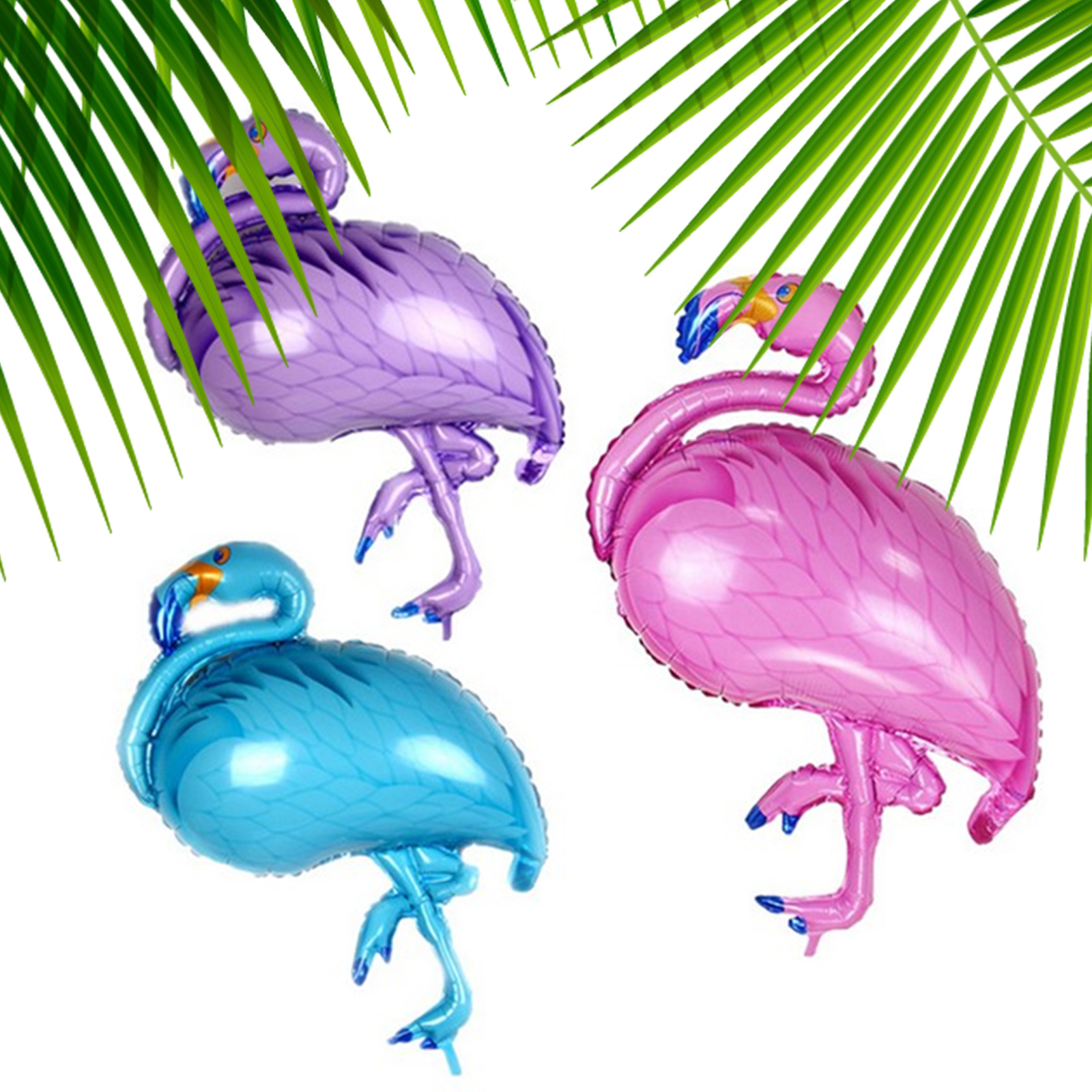 Cute Flamingo Aluminum Balloon Kids Adult Birthday Party Baloons Beach Party Decoration Pool Party Inflatable Joys