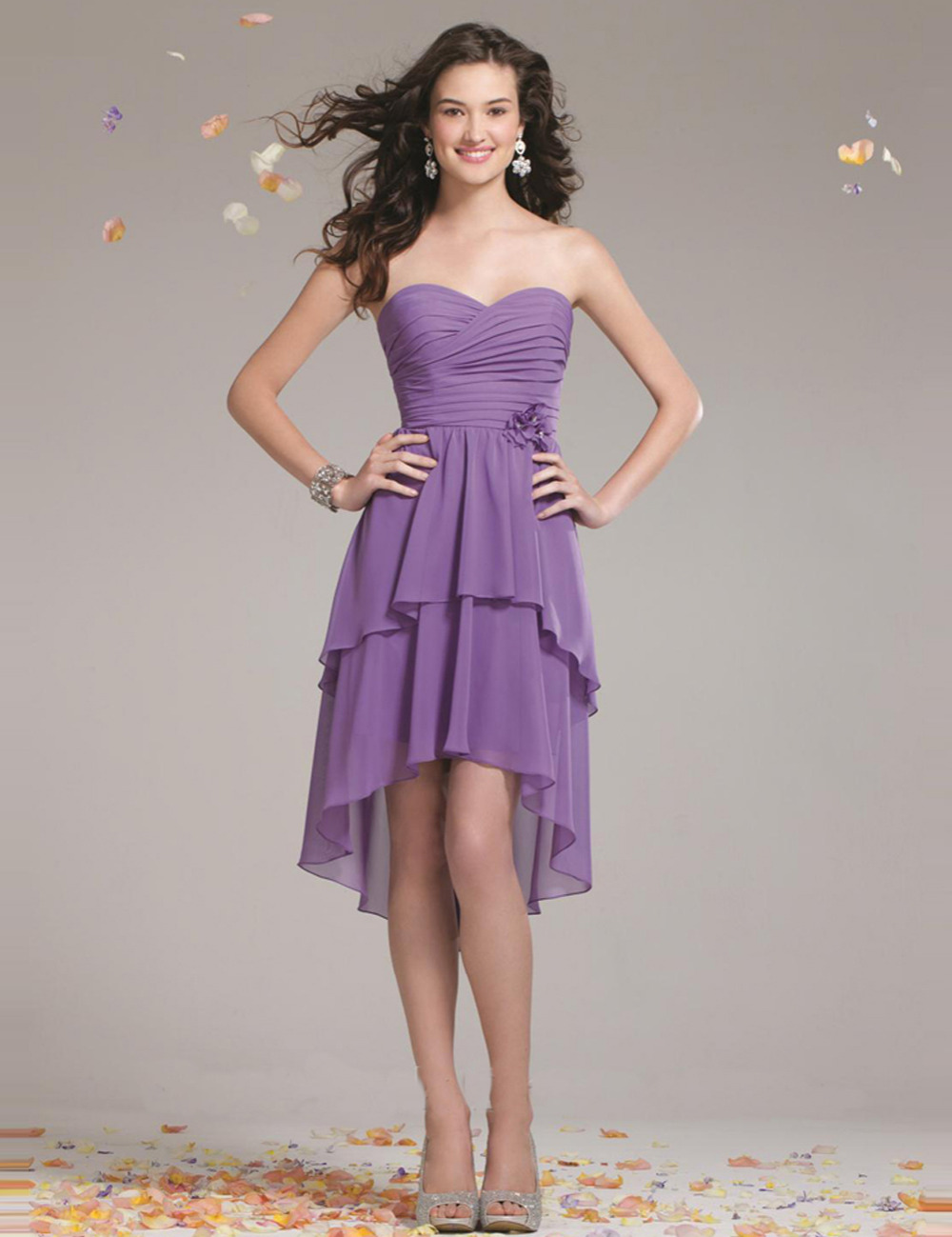 Short purple bridesmaids dresses gallery braidsmaid dress online get cheap purple high low bridesmaid dress aliexpress short purple bridesmaid dresses with flower sweetheart ombrellifo Image collections
