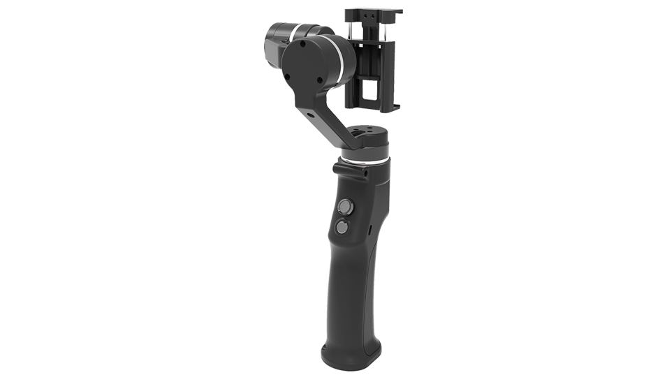 Capture 3-Axis Handheld Gimbal Stabilizer Face tracking Motorized Steadycam for iPhone X Samsung S8 Huawei P Pro 4