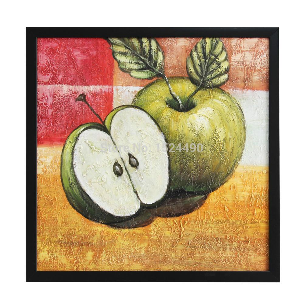 Green Apple Decorations For Kitchen Popular Green Apple Pictures Buy Cheap Green Apple Pictures Lots