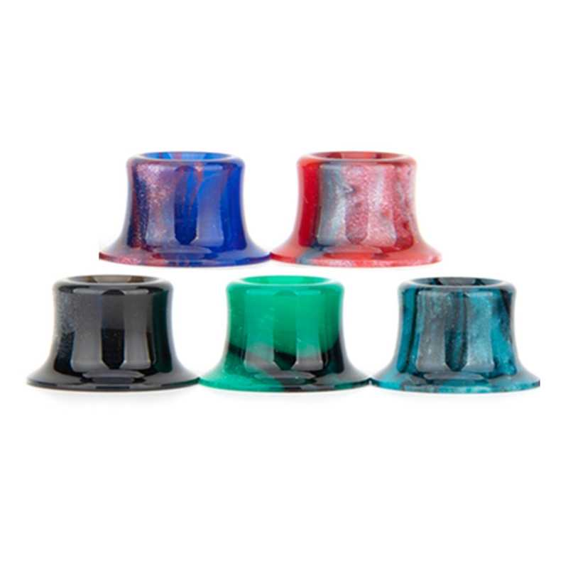 Tobeco Supertank Mini Khusus Epoxy Resin Drip Tip Warna-warni Resin Corong Pengganti Vape Aksesoris