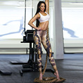 Hot Sale Fitness Pants Brand New Sexy 3D Printed Legging Femme Spandex Mid Waist Push Leggins For Woman Lady Freddy Pencil Pants