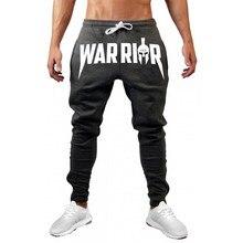 2019 New Men cotton Sweatpants Autumn Male Gyms Fitness bodybuilding Brand trousers Man Joggers workout Slim Pencil Pants