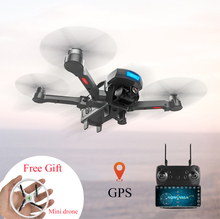 CG033 Дрон вертолет безщеточный 2,4 г FPV Wi-Fi Gimbal HD Камера 1080 P gps высота Удержание Quadcopter Дрон VS X8PRO LH-X28