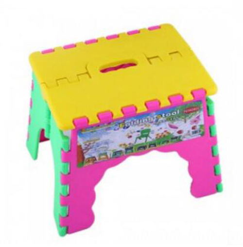 new portable outdoor sports child kids folding camping picnic step stool plastic foldable chair gift for kid - Folding Step Stool