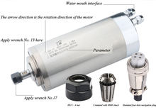 Шпиндель гравировального Станка 40000 кВт 80 диаметр с водяным
