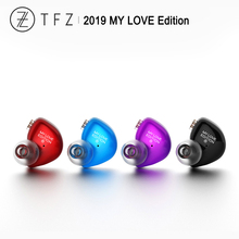 TFZ 2019 MY LOVE EDITION HiFi Audio Divided-frequency Graphene Dynamic In-ear Earphone IEM with 2 Pin 0.78mm Detachable Cable