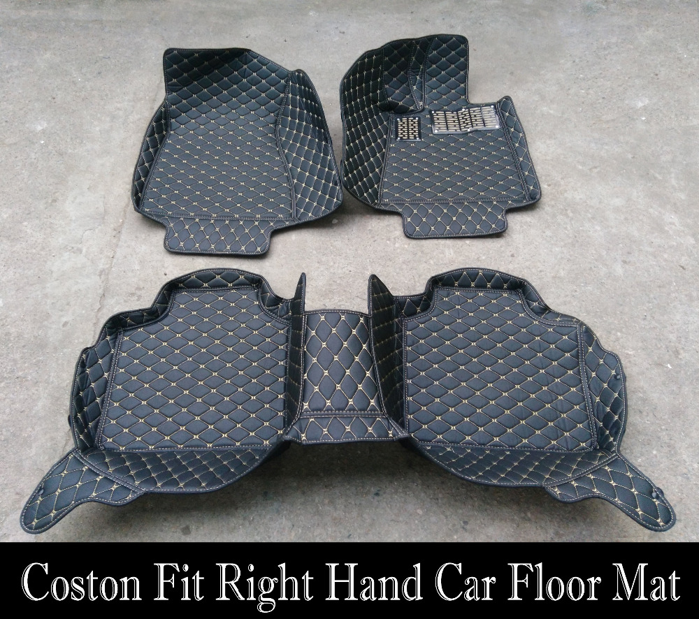 Floor mats qashqai - Custom Fit Car Floor Mats Right Hand Drive For Nissan Livina Teana Sylphy Qashqai X Trail Sunny Morano Tiida Car Styling In Floor Mats From Automobiles