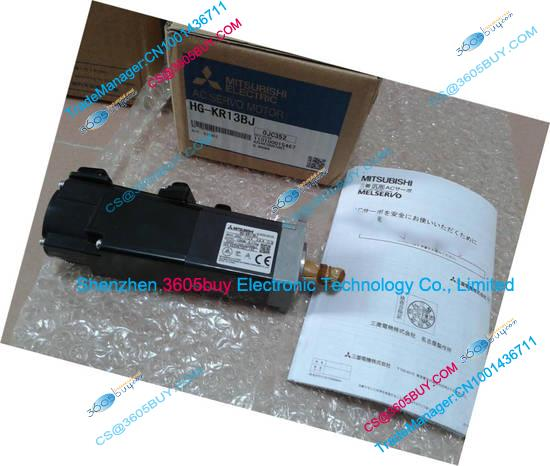 New Original Motor HG-MR13J AC Servo Motor 100W 3000rpm 0.32NM Oil Seal With Cable in Box