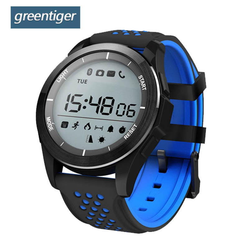 все цены на Greentiger F3 Smart Watch Men IP68 waterproof Sleep Monitor Calories Fitness Tracker Wearable Devices Outdoor Sports Smartwatch онлайн