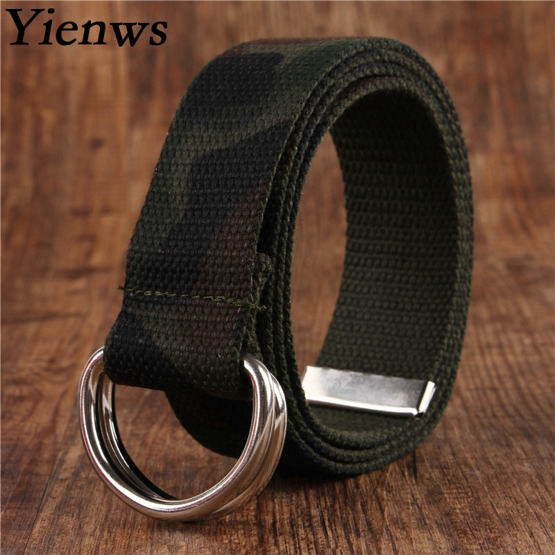 Yienws Camo Black Pink 18 Colorful Western Belt Kids Boy Girl Belts Kemer For Jeans Cowboy Children Belt Hip Hop YB019