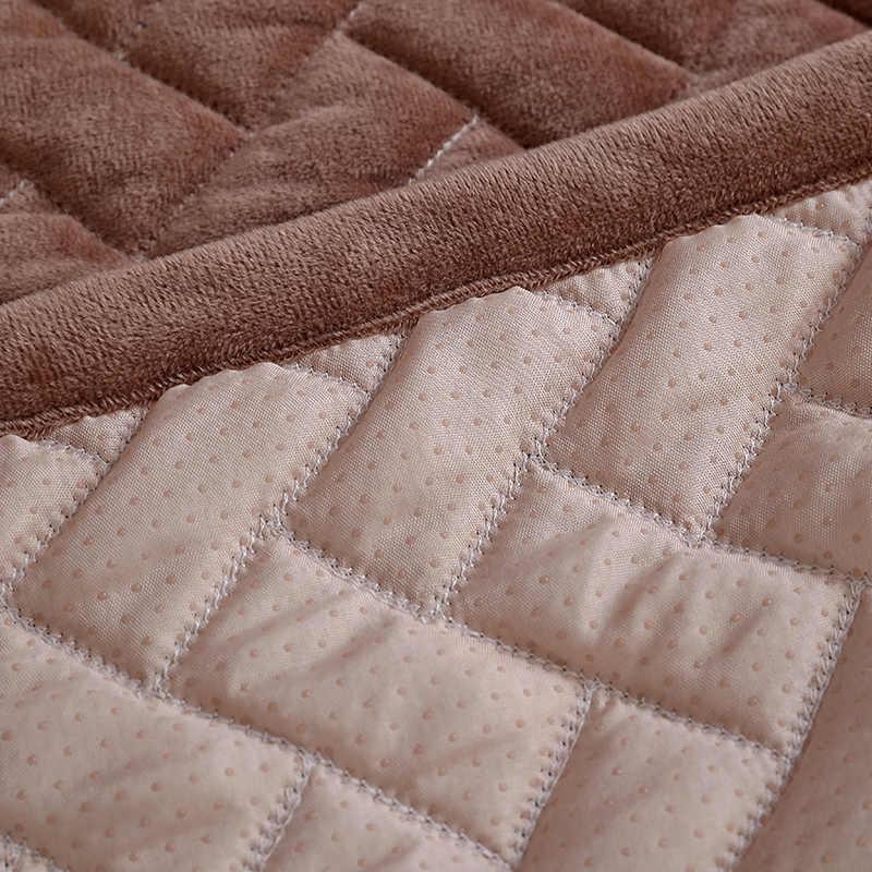 1 шт. чехлы для диванов для гостиной серый кофейный бежевый плюш мягкая подушка чехол для дивана современный минималистичный угловой диван полотенце
