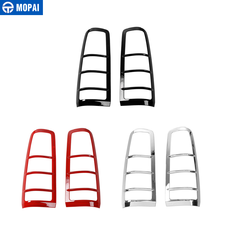 MOPAI ABS Rear Tail Light Lamp Guards Cover Car Exterior Decoration Protect Stickers for Suzuki Jimny