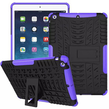 For iPad Air Shockproof Heavy Duty Silicone Hard Protector Case Cover For Apple iPad Air/iPad 5(2013) Tablet Accessories KF436A