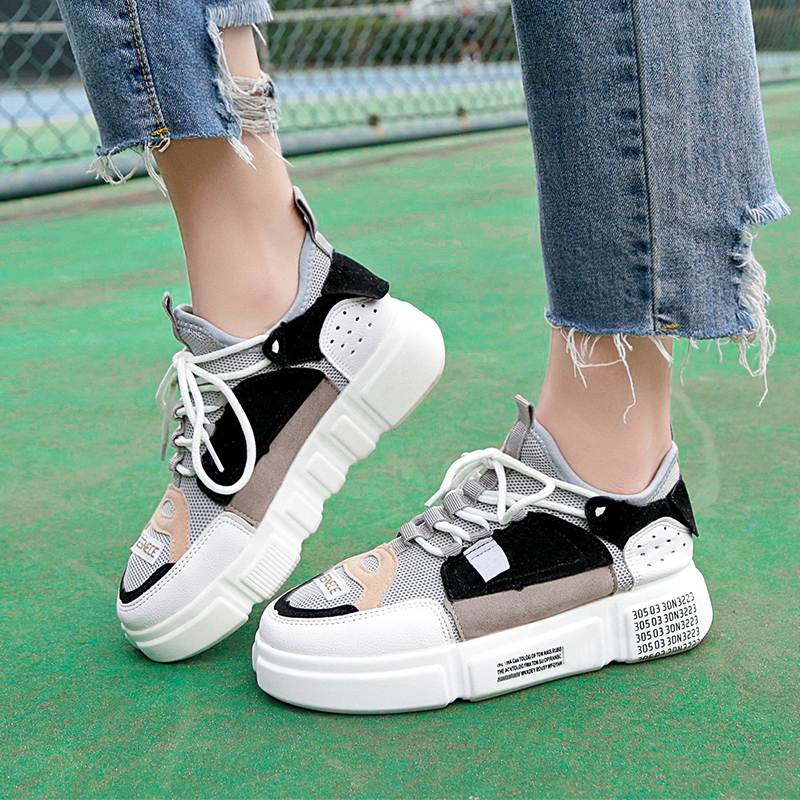 Lucyever Flat Platform Graffiti Women Loafer Shoes Lace Up Round Toe Flats Ladies Casual Shoes 2019 New Fashion Student FootwearLucyever Flat Platform Graffiti Women Loafer Shoes Lace Up Round Toe Flats Ladies Casual Shoes 2019 New Fashion Student Footwear