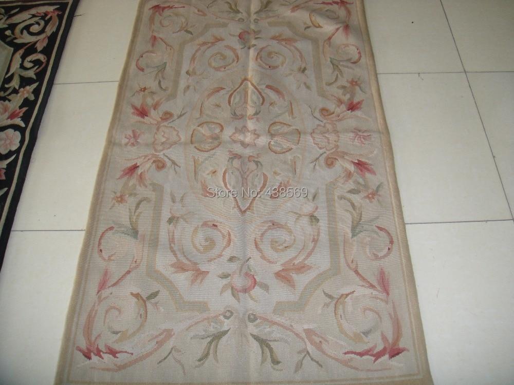 Envío libre 3\'x5 Aubusson tejer alfombras hechas a mano-100% Nueva ...