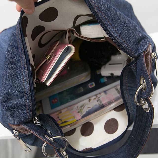 ARPIMALA 2017 Large Luxury Handbags Women Bag Designer Ladies Hand bags Big Purses Jean Denim Tote Crossbody Women shoulder Bags