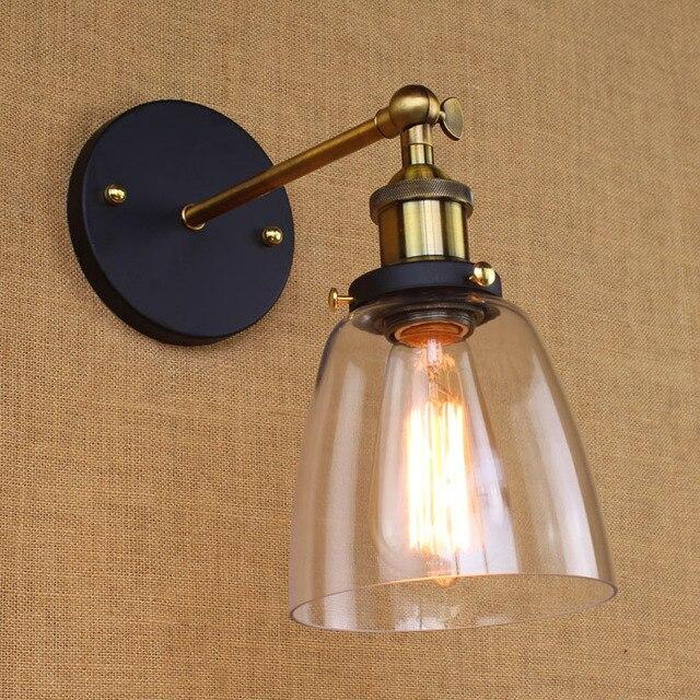 Antique Art Glass Wall Light,modern indoor lighting wall sconce for ...