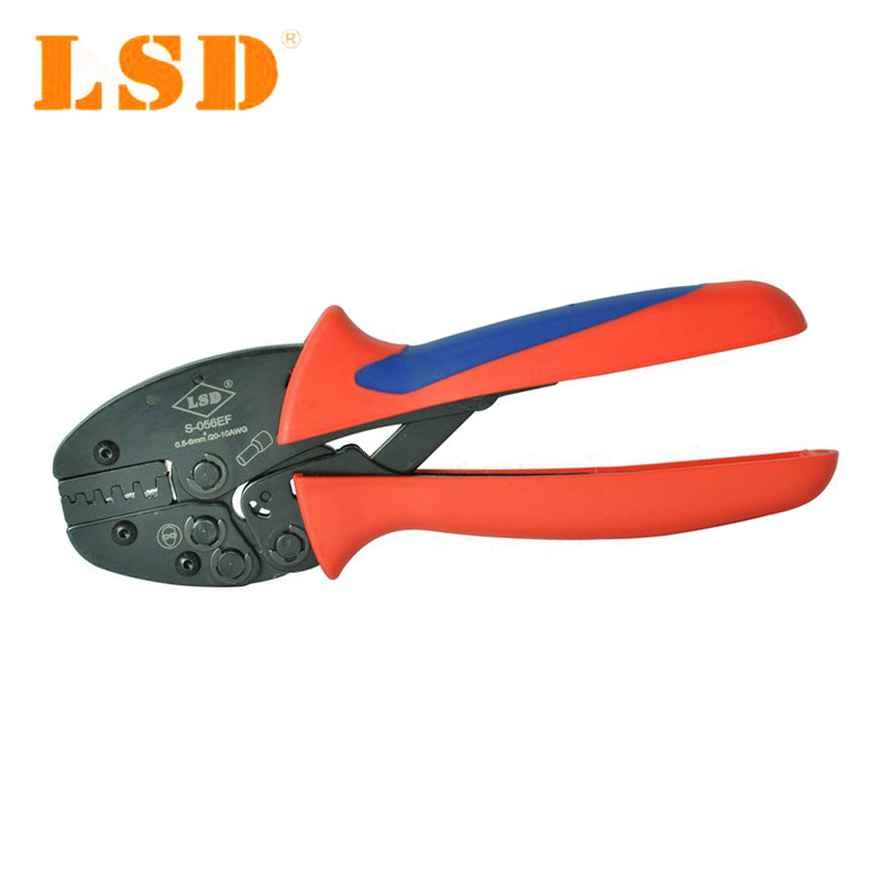 Crimping tools S-056EF for crimping 0.5-6mm2 cable ferrules cable sleeves crimper hand tools multitool pliers