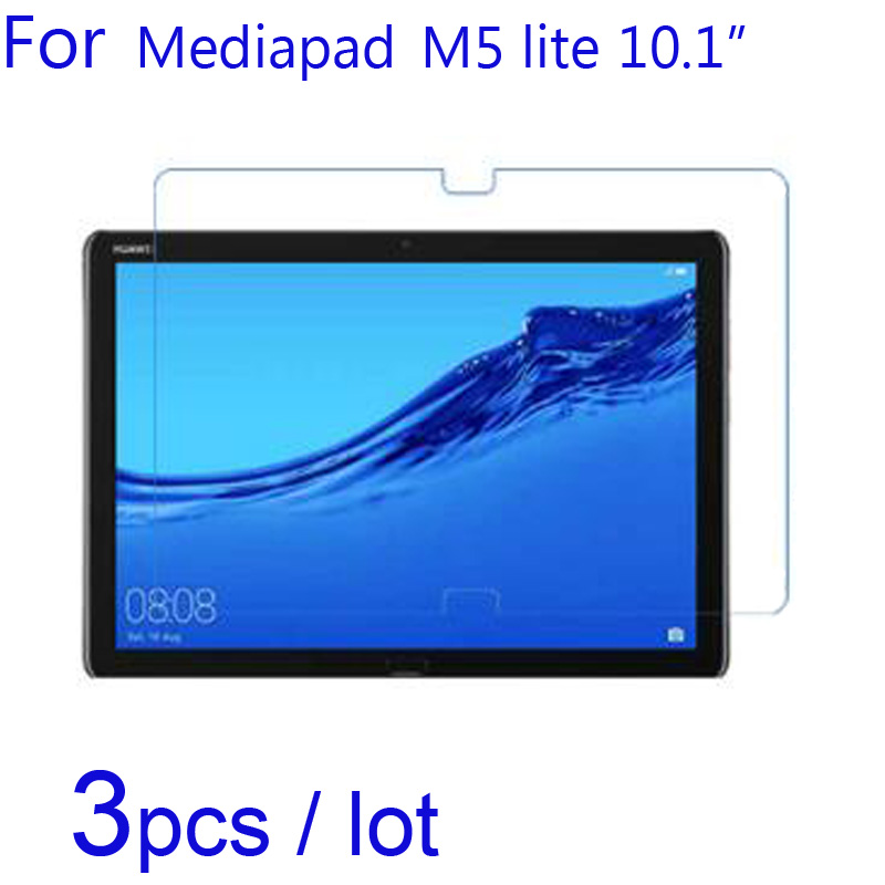 3pcs/lot For Huawei MediaPad M5 Lite/M3 Lite 10 Waterplay WP Soft Clear/Matte/Nano Anti-Explosion Tablet Screen Protector Films