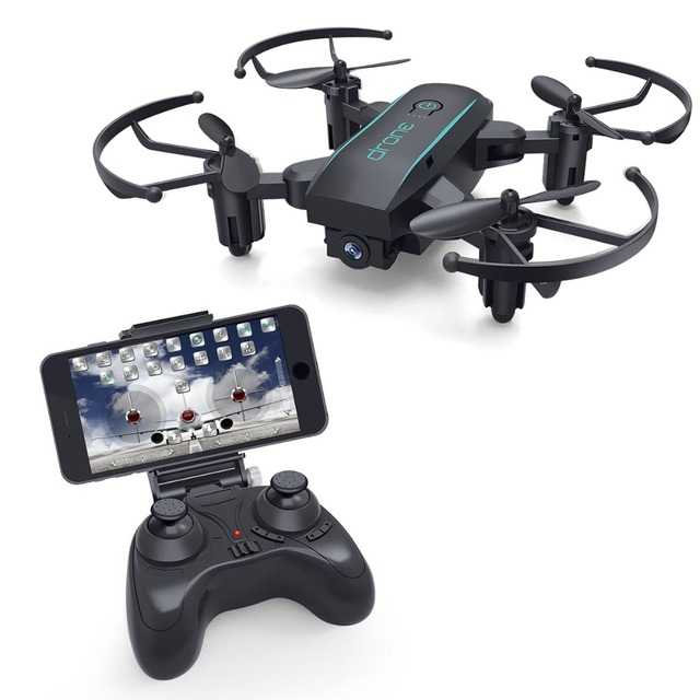 RC Drone with 720P HD Camera X01HW Mini Foldable WIFI FPV Real-time High Range RC Helicopter quadcopter for Beginner