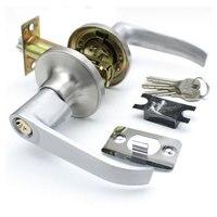 Three Bar Locking Hand Lock handle Bathroom Door Lock